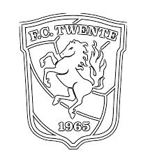 Kleurplaat Voetbal Logo Feyenoord Voetbalclub Nederland Logo