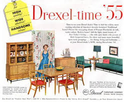 1955 drexel dining room set