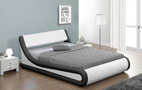 concept double bed with storage