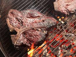 Orion Cooking Chart Slow Smoked Porterhouse Steaks Recipe