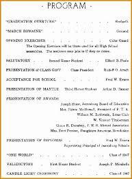 Graduation Program Template Pdf Preschool Graduation Programs Template Preschool Graduation Program