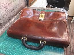 2 antique lizard skin bags