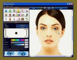 photo makeup software free and give makeup your photo free and easy is very easy on