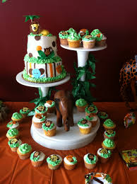 Safari Cakes For Baby Shower  Party XYZBaby Shower Safari Cakes