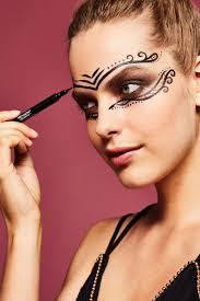 3 halloween masks you can do with makeup diy makeup eye masks for halloween