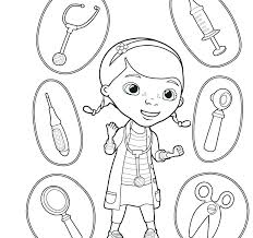 Free Printable Doc Mcstuffins Coloring Sheets Coloring Pages For Doc