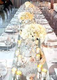 mirror centerpieces for weddings round mirror centerpiece wedding centerpieces tall and short