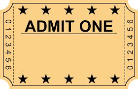 Ticket Stub Invitation Template Bire1andwap Ticket Stub Invitation