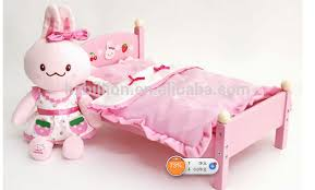 New Design 18 Inch Wooden Baby Single Bed Doll Furniture Buy