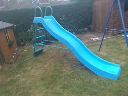 9 ft garden slide