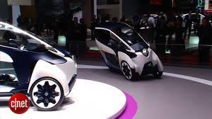 Car Tech - Toyota i-Road Concept - YouTube