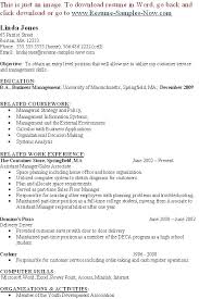 Management Resume Samples Awesome Entry Level Management Resume Objective Examples It Templates Epic
