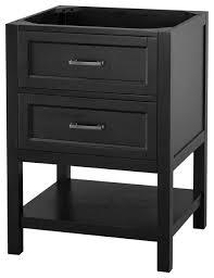 black bathroom vanity. georgette black bathroom vanity cabinet, 24\