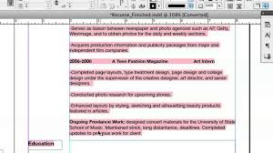 Doing Your Resume In Indesign Indesign Graphics Youtube