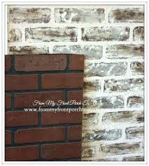 fake brick panels best brick walls faux and real images on brick painted faux brick wall to give my ideas to cover interior brick wall interior faux fake