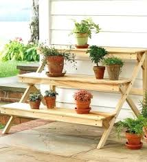 outdoor wooden plant shelves mission furniture plans and kits primitive wood pattern books tiered outdoor plant