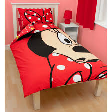 Mickey And Minnie Mouse Bedroom Minnie Mouse Bedding Duvet Covers Amp Bedroom Accessories
