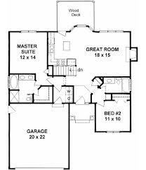 2 bedroom 2 bath house plans with garage. traditional style house plans - 1091 square foot home , 1 story, 2 bedroom and bath with garage b