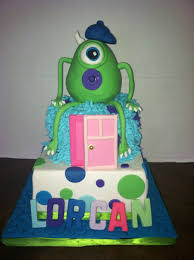 Monster Inc Baby Shower Decorations Monsters Inc Baby Shower Cake Cakecentralcom