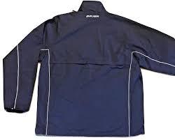 Amazon Com Bauer Hockey Warm Up Jacket Navy Blue Adult Men