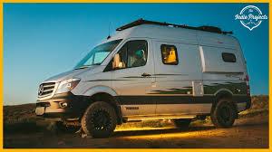 Find camper van in cars & vehicles   find new or used cars in canada : 150 000 Winnebago Revel 4x4 Sprinter Van Tour Youtube