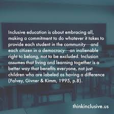 Inclusion Quotes Collection One Think Inclusive