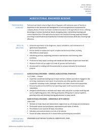 Agriculture Engineer Sample Resume Sample Resume Agricultural Engineering Danayaus 1
