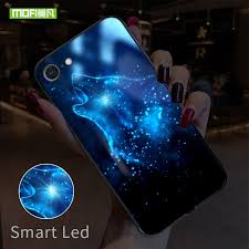 <b>Smart Led Glow</b> Phone Case For iPhone 7 8 Plus Cases Back ...
