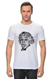 Футболка <b>классическая Printio Альберт</b> Эйнштейн #1610505