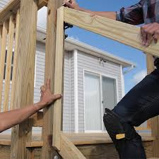 How to build a deck video Ground Step Lowes How To Build Deck Wood Stairs And Stair Railings