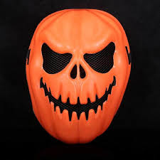 Decorative Face Masks Online Shop Creepy Pumpkin Mask Halloween Decorative Face Mask 36