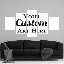 customise photo 5 panel canvas board on 5 canvas wall art custom with wallingshop online wall decal store for stickers canvas arts