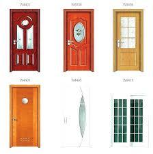 various wood and glass doors s solid door bookcase