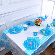 108x180cm polka dot plastic disposable tablecloth banquet tablecover birthday party supplies table linens round tablecloths from smilemen 23 52 dhgate