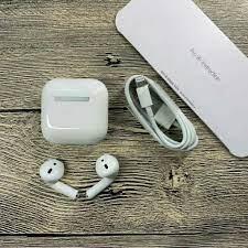 Tai Nghe Bluetooth Airpod Pro 4 bản Cao Cấp Định Vị Đổi Tên Bluetooth 5.0  Âm Thanh Cực Tốt Đàm Thoại Sắc Nét - Tai nghe Bluetooth nhét Tai Nhãn hiệu  No