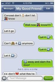 16 Song Lyrics Cleverly Translated Into Emoji Text Messages