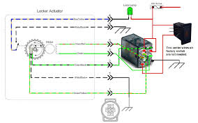 rocker switch wiring diagram images spdt relay wiring e locker wiring dpdt by