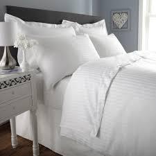satin stripe king size pillowcase pair 19 x36