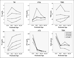 Thyroid Chart Pediatric Thyroid Reference Ranges