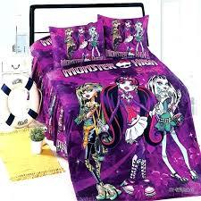 monster high bed monster monster high double bed set monster high bedding australia