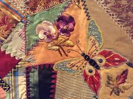 Allie's in Stitches: Gallery of Quilts - beautiful crazy quilt ... & Allie's in Stitches: Gallery of Quilts - beautiful crazy quilt. Description  from pinterest. Adamdwight.com