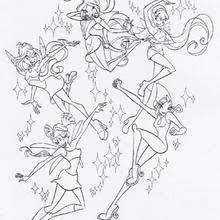 Small Picture WINX CLUB coloring pages 85 online toy dolls printables for girls
