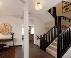 Modern stair rails - wood