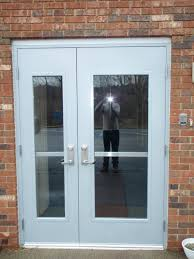 fire rated aluminum doors images