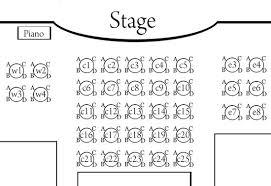 Seating Chart The Gaslight Melodrama
