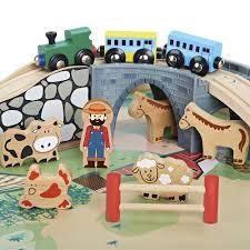imaginarium allinone wooden train table  imaginarium  toysrus
