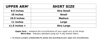 Sizing Chart Annienymotee Womens Undershirts