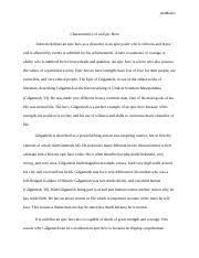 gps essay sunjata vs gilgamesh page mwf p m gps  4 pages gilgamesh epic hero paper