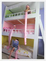 Build A Princess Bed Bunk Beds Fun Bunk Beds With Slides Double Bunk Bed With Slide