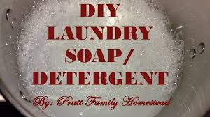 diy homemade liquid laundry soap detergent what we use